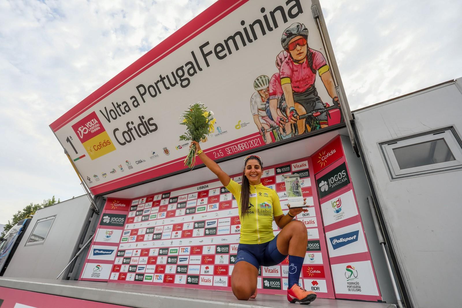 Raquel Queirós conquista a 1.ª Volta a Portugal Feminina Cofidis