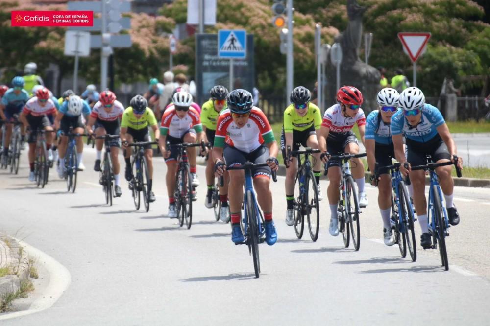 Seleção nacional feminina no Gran Prémio Cidade de Pontevedra