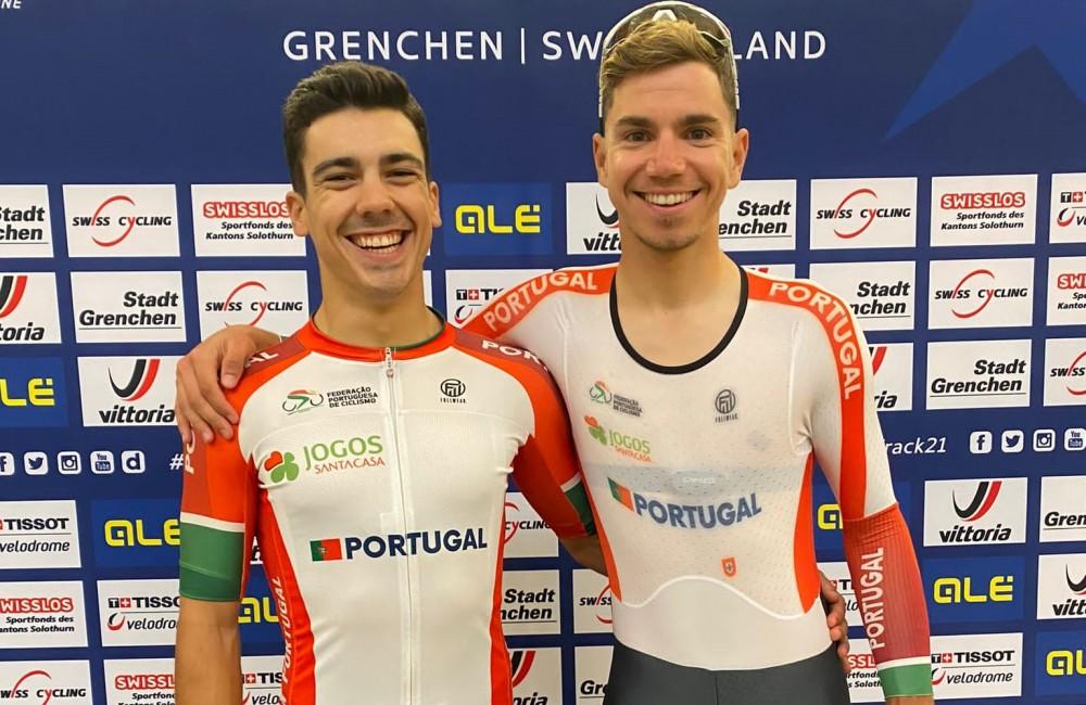 Iúri Leitão e Rui Oliveira conquistam medalha de bronze em madison