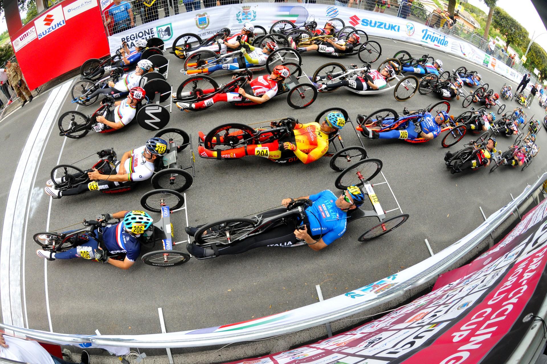 Mundial de Paraciclismo no Circuito Estoril em Junho de 2021