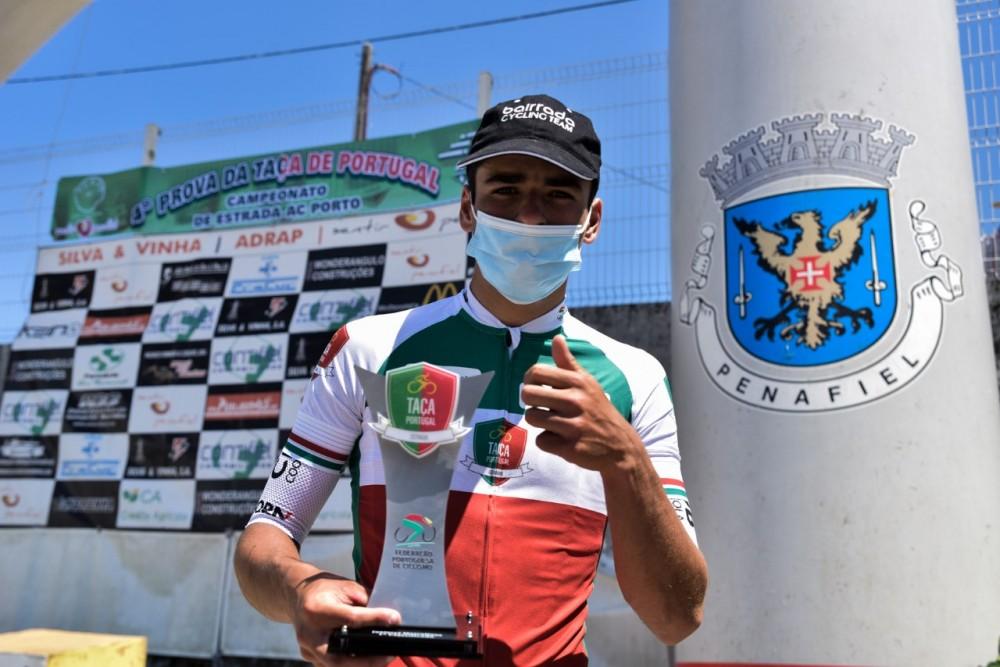 António Morgado conquista a Taça de Portugal Júnior, em dia de vitória para Pedro Pinto