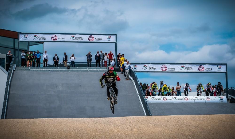Pista de BMX de Anadia em estreia na Taça de Portugal